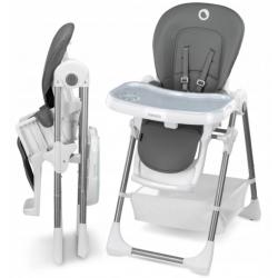 Maitinimo kėdutė LINN PLUS GREY