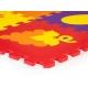 Spalvingas kilimėlis-dėlionė 148x119 cm.