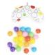 Lavinamasis kilimėlis su šviečiančiais lankais + kamuoliukai