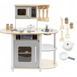 Medinė virtuvėlė Modern su priedais
