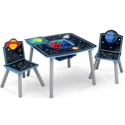 Staliukas su dviem kėdutėm Kosmosas