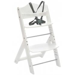 Medinė maitinimo kėdutė Max White