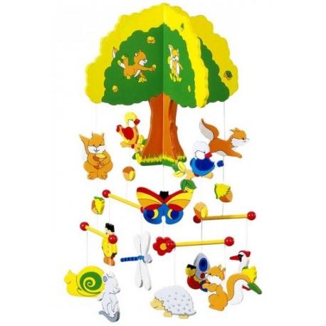Goki medinė karusėlė Tree House