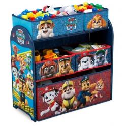 Žaislų lentyna Paw Patrol su 6 stalčiais