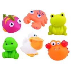 Cypsiantis guminiai žaisliukai Sea Animals (6 vnt.)