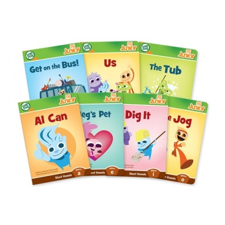 Knygelės skaitymui su LeapFrog Tag Junior