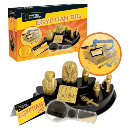 National Geographic rinkinys Egipto daiktai (instrukcija prancūzų kalba)