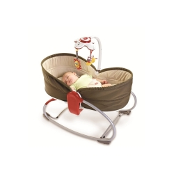 Tiny Love lopšys - gultukas Rocker Napper 3in1 su karusele