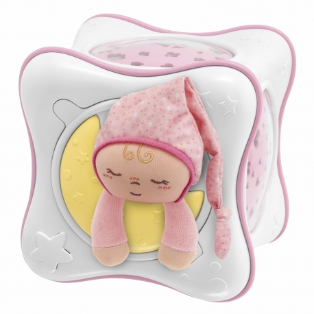 Chicco First Dreams Rainbow Cube migdukas su projekcija