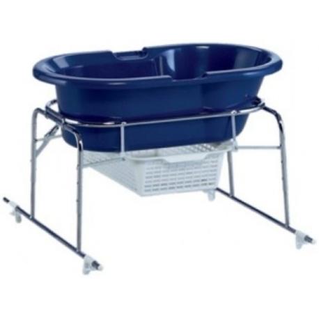 Metalinis stovas vonelei tvirtinamas ant vonios (be priedų)