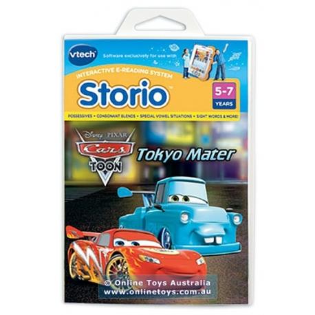 Vtech Storio kasetė Disney Cars Toon - Tokyo Mater (be pakuotės)