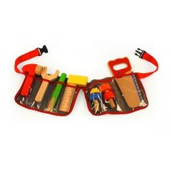 Staliaus diržas su įrankiais (raudonas)