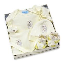 Rubelių rinkinys kūdikiui dovanų dėžutėje
