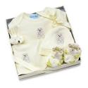 Rūbelių rinkinys kūdikiui dovanų dėžutėje
