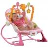 Fisher Price vibro kėdute – Infant to toddler rocker Bunnies