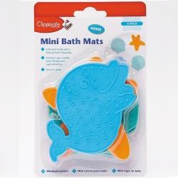 Clippasafe neslidūs mini vonios kilimeliai (6 vnt.)