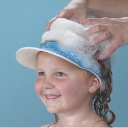 Apsauga nuo šampūno patekimo į akis